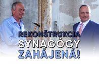 SENEC.TV – REKONŠTRUKCIA SYNAGÓGY ZAHÁJENÁ!