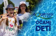 aquapark očami detí