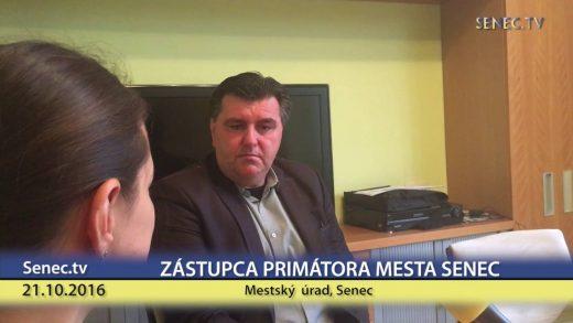 SENEC.TV – ROZHOVOR S VICEPRIMÁTOROM DUŠANOM BADINSKÝM