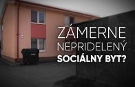 sociálny byt